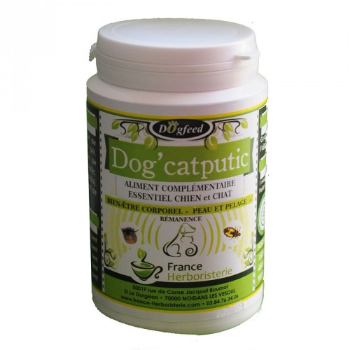 DOG'CATPUTIC flacon de 150 grammes.