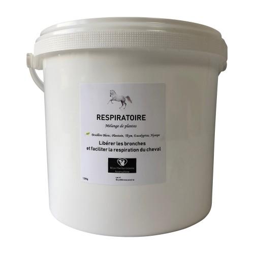 Mélange RESPIRATOIRE pour chevaux - 1,5Kg - Composition de plantes