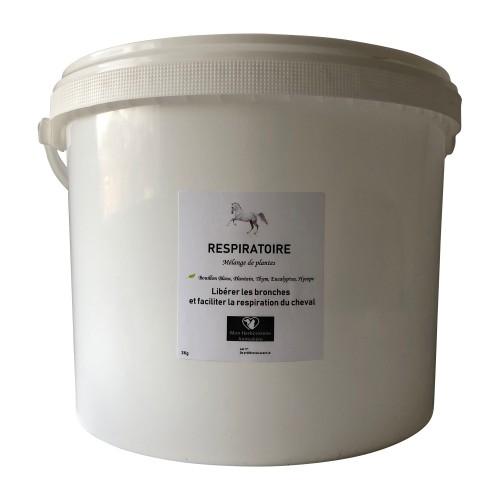 Mélange RESPIRATOIRE pour chevaux - 3Kg - Composition de plantes