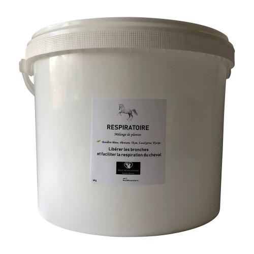 Mélange RESPIRATOIRE pour chevaux - 6Kg - Composition de plantes