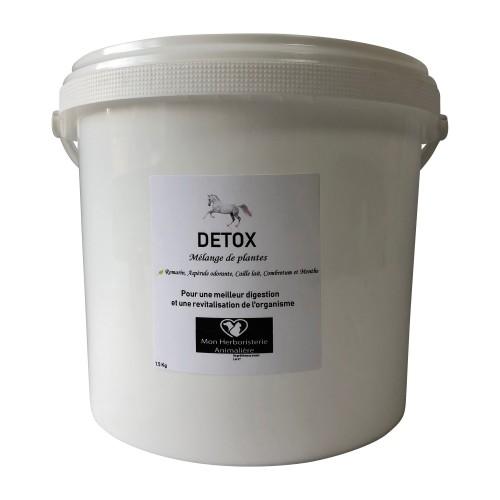 Mélange DETOX pour chevaux - 1,5Kg - Composition de plantes