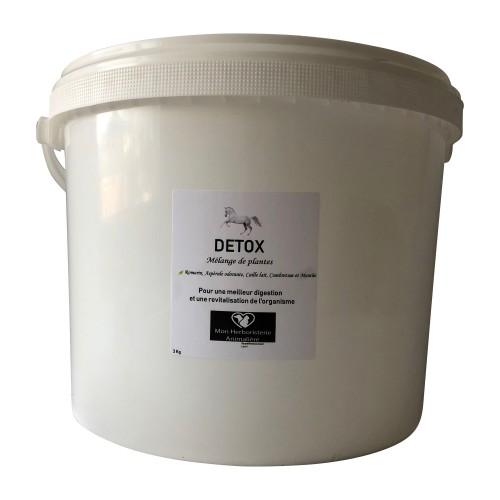Mélange DETOX pour chevaux - 3 Kg - Composition de plantes