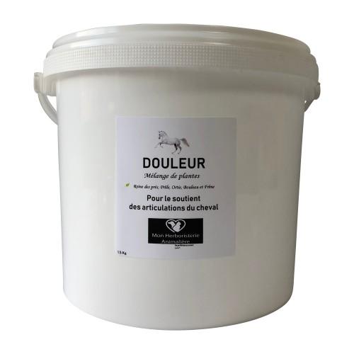 Mélange DOULEUR des articulations pour chevaux - 1,5Kg - Composition de plantes