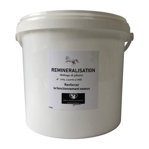 Mélange REMINERALISATION pour chevaux - 1,5Kg - Composition de plantes