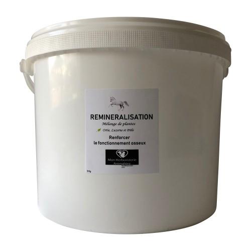 Mélange REMINERALISATION pour chevaux - 3Kg - Composition de plantes