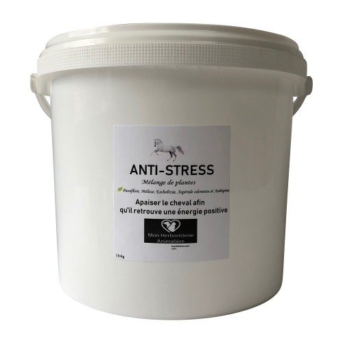 Mélange ANTI-STRESS pour chevaux - 1,5 Kg - Composition de plantes