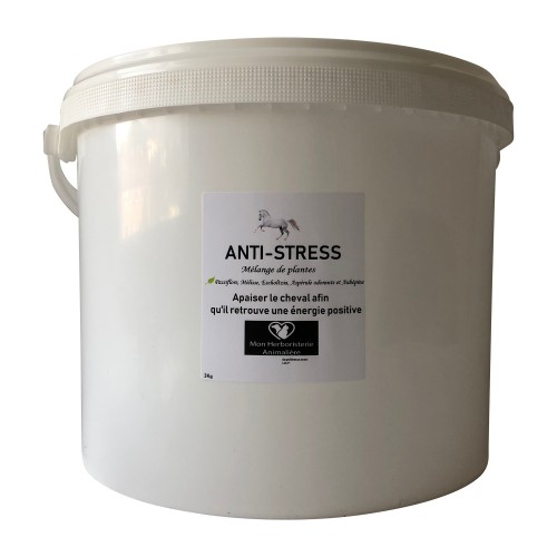 Mélange ANTI-STRESS pour chevaux - 3 Kg - Composition de plantes